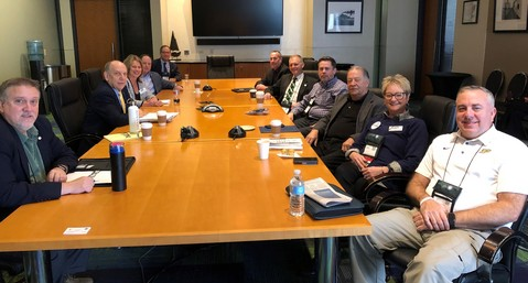 IAEM Leaders Meet with National Weather Service Representatives at IAEM Annual Conference